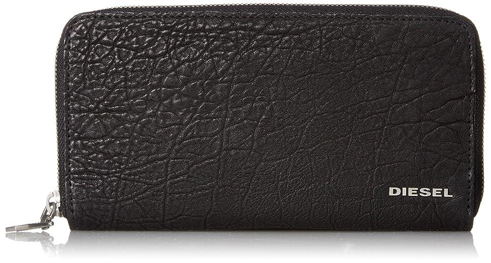 オッズ慣れている持続的(ディーゼル) DIESEL メンズ ラウンドジップ 長財布 BUFFALO BYLL 24 ZIP - wallet X05562PR393