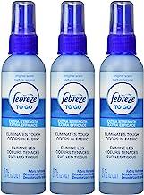 Febreze Fabric Refresher 2.8 oz Travel to-Go Size Febreze Fabric Spray, 3-Pack