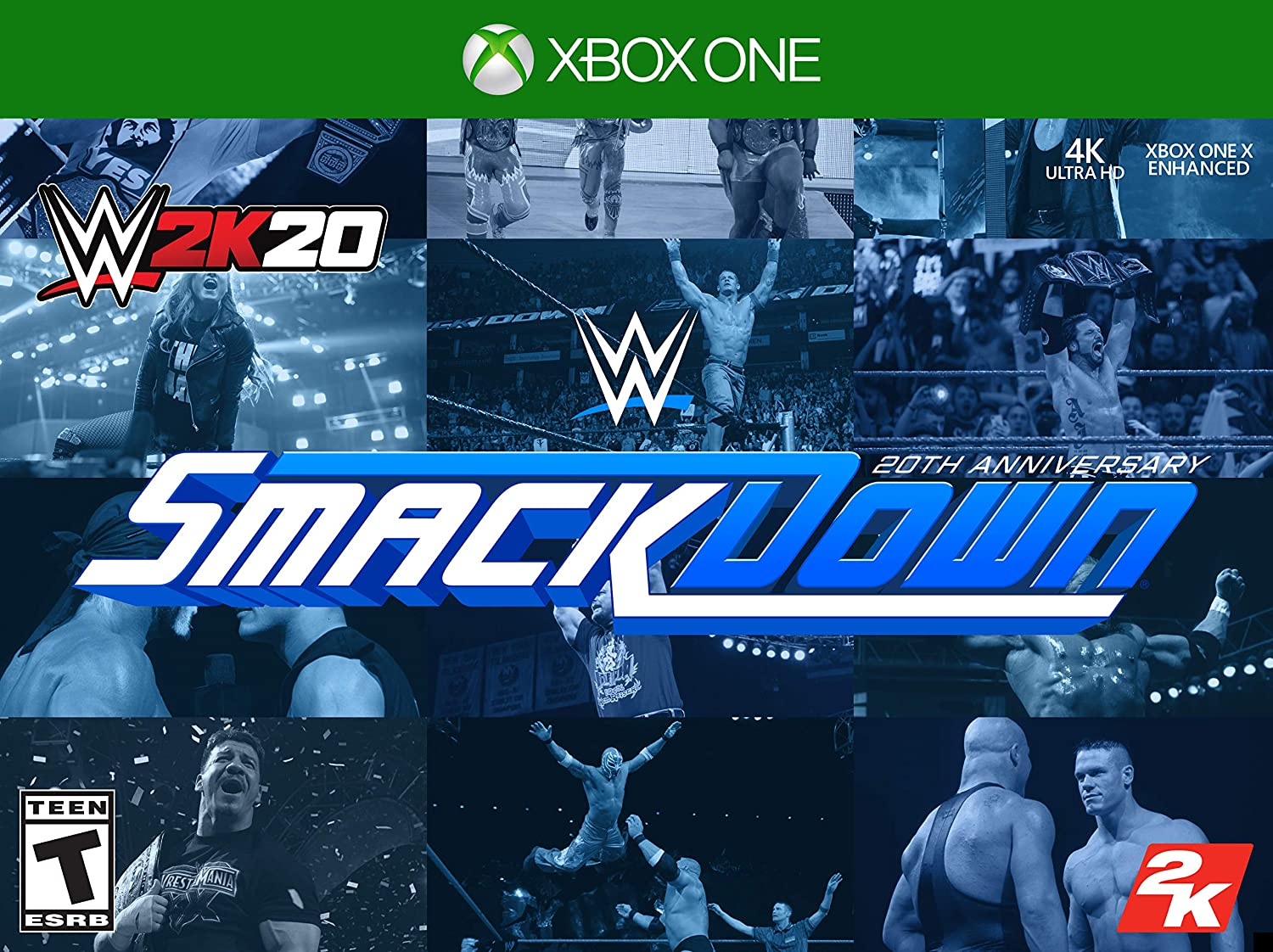 WWE 2K20 SmackDown 20th Max 47% OFF Brand new Anniversary Edition One - Xbox