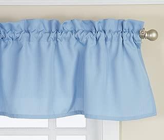 Lorraine Home Fashions 00200-V-00003 Ribcord Valance, 54-Inch x 12-Inch, Blue