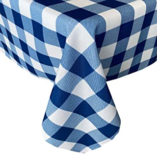 Tablecloth Table Stain Fantasy still Marinara 6 12 seater Blue White