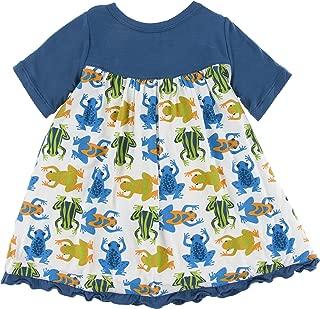 frog print dress