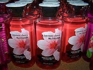 Lot of 3 Bath & Body Works Japanese Cherry Blossom Shower Gel 10 fl oz Each (Japanese Cherry Blossom)