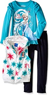 Girls' 3 Piece My Powers Are Strong Elsa Pullover Set