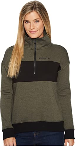 Cinch - Long Sleeve 1/2 Zip Pullover