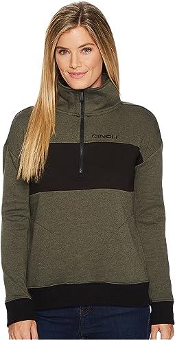 Cinch - Long Sleeve 1/2 Zip Pullover