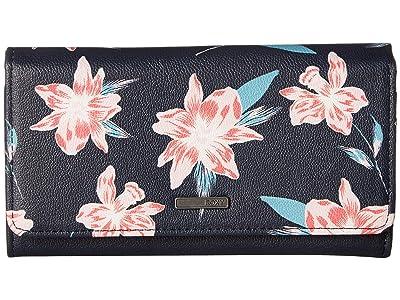 Roxy Hazy Daze Wallet (Mood Indigo Tandem) Wallet Handbags