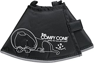 The Original Comfy Cone, Soft Pet Recovery Collar with Removable Stays,Small 14 cm