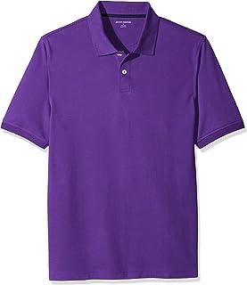 18df5934 Amazon Essentials Men's Regular-Fit Cotton Pique Polo Shirt