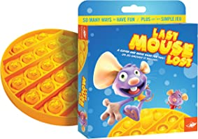 FoxMind Games Last Mouse Lost Game - The Original Push Pop Bubble Popping Sensory Pop It Fidget Toy Game - Autism ADHD...