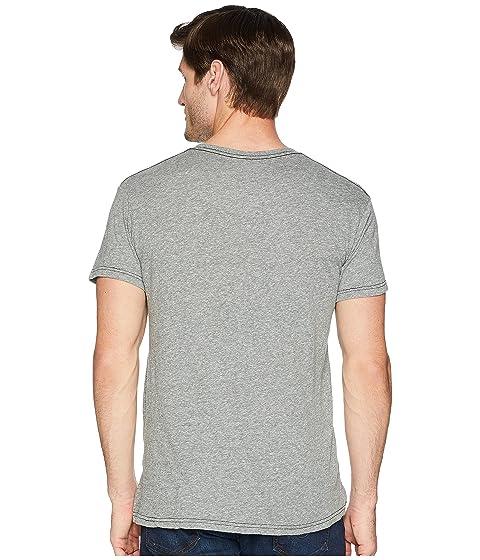 Retro la de camiseta marca La rayado corta de gris original manga Whiskey triple a ayuda mezcla xCEpw1wYq