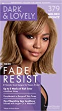Permanent Hair Color by Dark and Lovely Fade Resist I Up to 100% Gray Coverage Hair Dye I Golden Bronze 379 I SoftSheen-Carson I Packaging May Vary