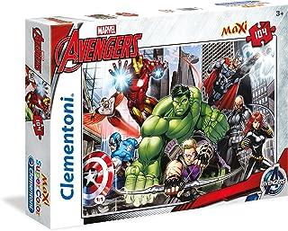 Clementoni - 23688.6 - Maxi Puzzle - Avengers Assemble - 104 Pièces