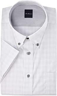 [フレックスジャパン] デザインワイシャツ 吸水速乾で乾きやすく 形態安定加工 半袖 シャツ DHSM71 メンズ