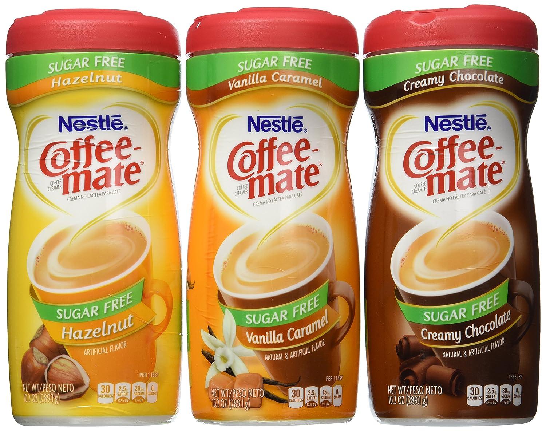 Coffee-mate Sugar-Free 3 Flavor Bundle - Caramel Purchase Vanilla Creamy El Paso Mall