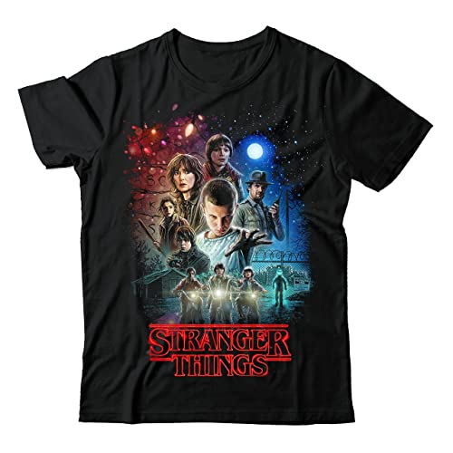 Stranger Kids Children/'s T-shirt Kids Boys Novelty Things Strange Kids Tops