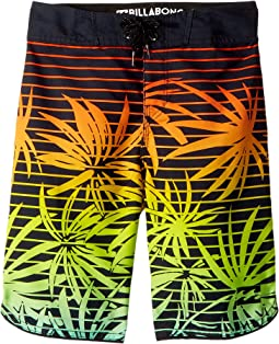 Billabong Kids - 73 OG Print Boardshorts (Big Kids)