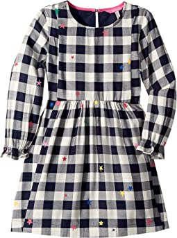 Woven Brushed Flannel Dress (Toddler/Little Kids/Big Kids)
