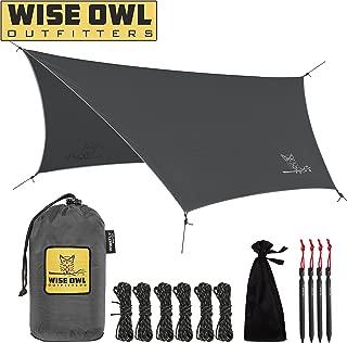 tarps for rain shelter