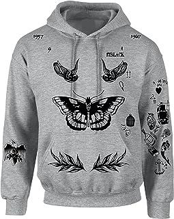 Best Adult Hoodie Harry Tattoos Cool Top Trendy Hooded Review