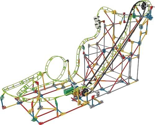 K'NEX 33485 - Thrill Rides - Double Doom Roller Coaster - 891 Pieces - 9+ - Bau- und Konstruktionsspielzeug