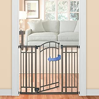 Summer Infant Multi-Use Deco Extra Tall Walk-Thru Gate, Bronze (28.5 – 48 Inch)