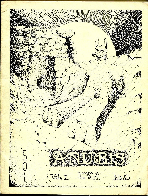 Anubis #2-Spring 1967-Golden Goblin pulp fiction-Ron price Press-weird Max 86% OFF