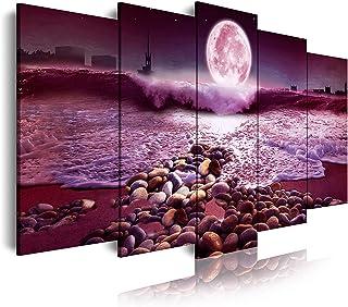 DekoArte 523- Impression Sur Toile Moderne D'Images Artistiques | Toile Décorative Pour Votre Salon Ou Votre Chambre | Sty...