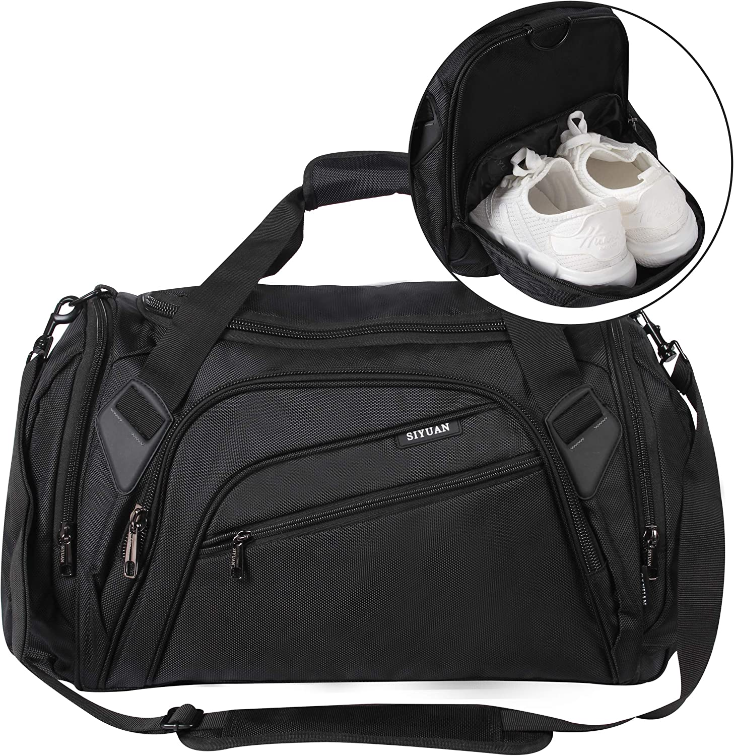 SIYUAN depot Sports Duffel Bag Water with Athletic S Gym Resistant Cheap sale