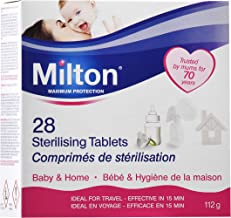 Milton Sterilising Tablets - Pack of 28 Tablets