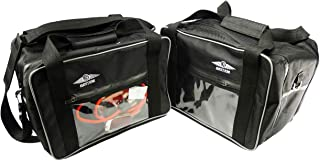 Bestem LGBM-R12GS-SDL-CP Black Side Case Liners with Clear Pocket for BMW R1200GS, Pair