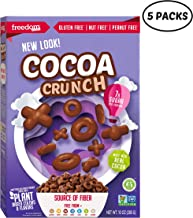 Freedom Foods Cocoa Crunch Breakfast Cereal, Allergen Friendly, BULK CASE, 10 Ounce, Pack of 5