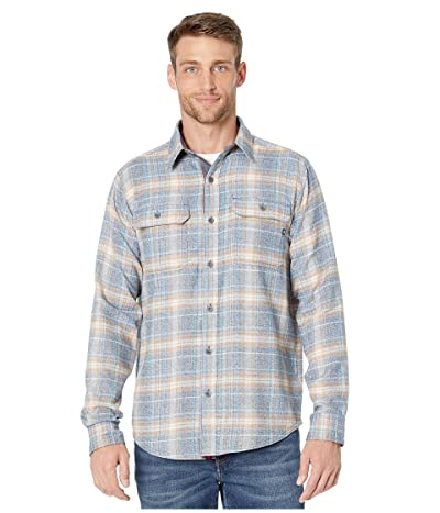 Marmot Jasper Midweight Flannel Long Sleeve Shirt (Dark Indigo) Men