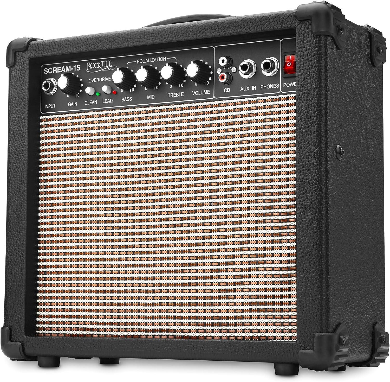 Rocktile Scream-15 - Amplificador para guitarra