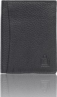 Le Craf Leather Men's Wallet (Black W6018204)