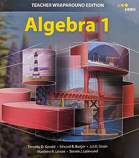 Algebra 1 Teacher Wraparound Edition, 9781328825636, 1328825639