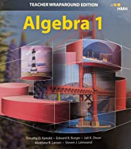 Algebra 1 Teacher Wraparound Edition, 9781328825636, 1328825639
