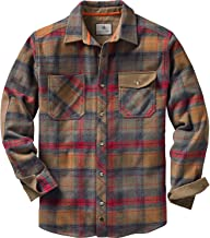 Legendary Whitetails Men's Harbor Heavyweight Woven Long Sleeve Button Up Shirt