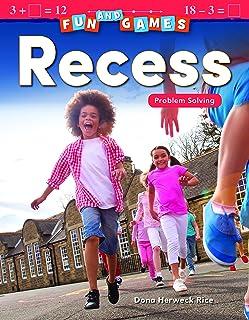 Fun and Games: Recess: Problem Solving
