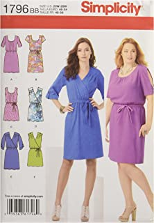 elastic waist dress pattern
