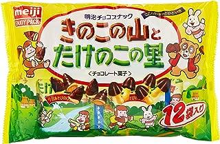 明治 きのこたけのこ袋 12袋×18袋