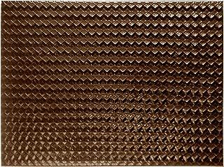 I  Style  My Home Tradestock Posavasos, diseño geométrico, color marrón