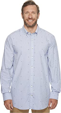 Nautica Big & Tall - Big & Tall Long Sleeve Bengal Stripe