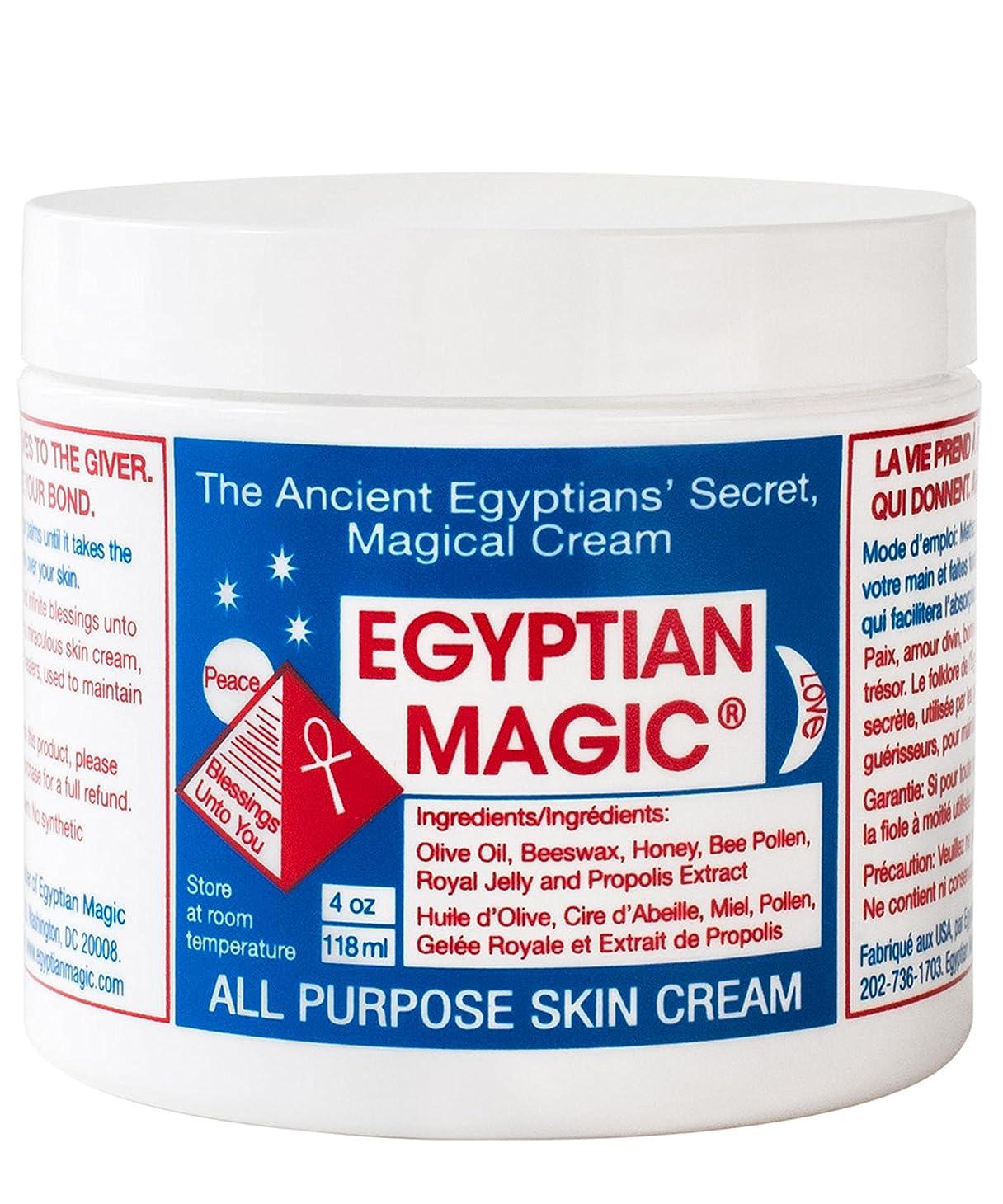 余計なトランクライブラリ着替えるEgyptian Magic All Purpose Skin Cream 118ml (Pack of 6) - エジプトの魔法の万能スキンクリーム118ミリリットル x6 [並行輸入品]