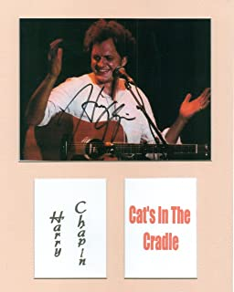 harry chapin autograph