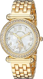 U.S. Polo Assn. Women's Stainless Steel Quartz Watch with...