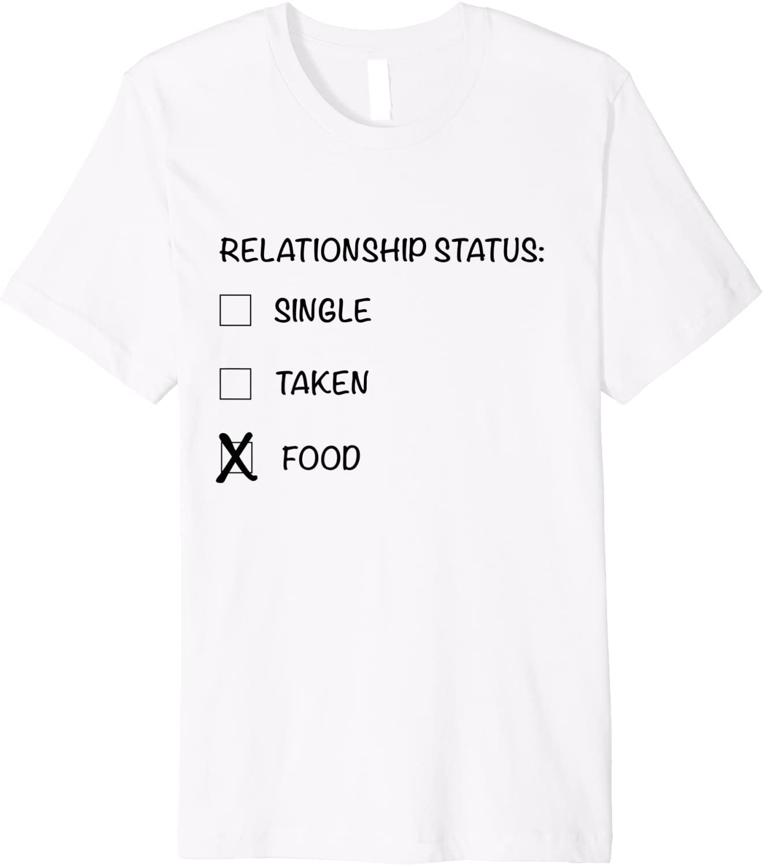 single taken white t-shirt