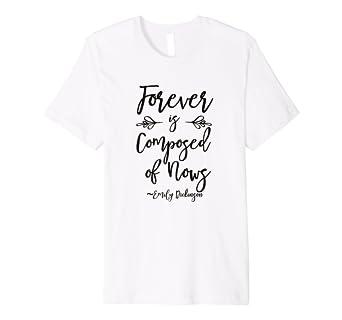 Amazon.com: Emily Dickinson Quote Camisa Regalos para Yoga ...