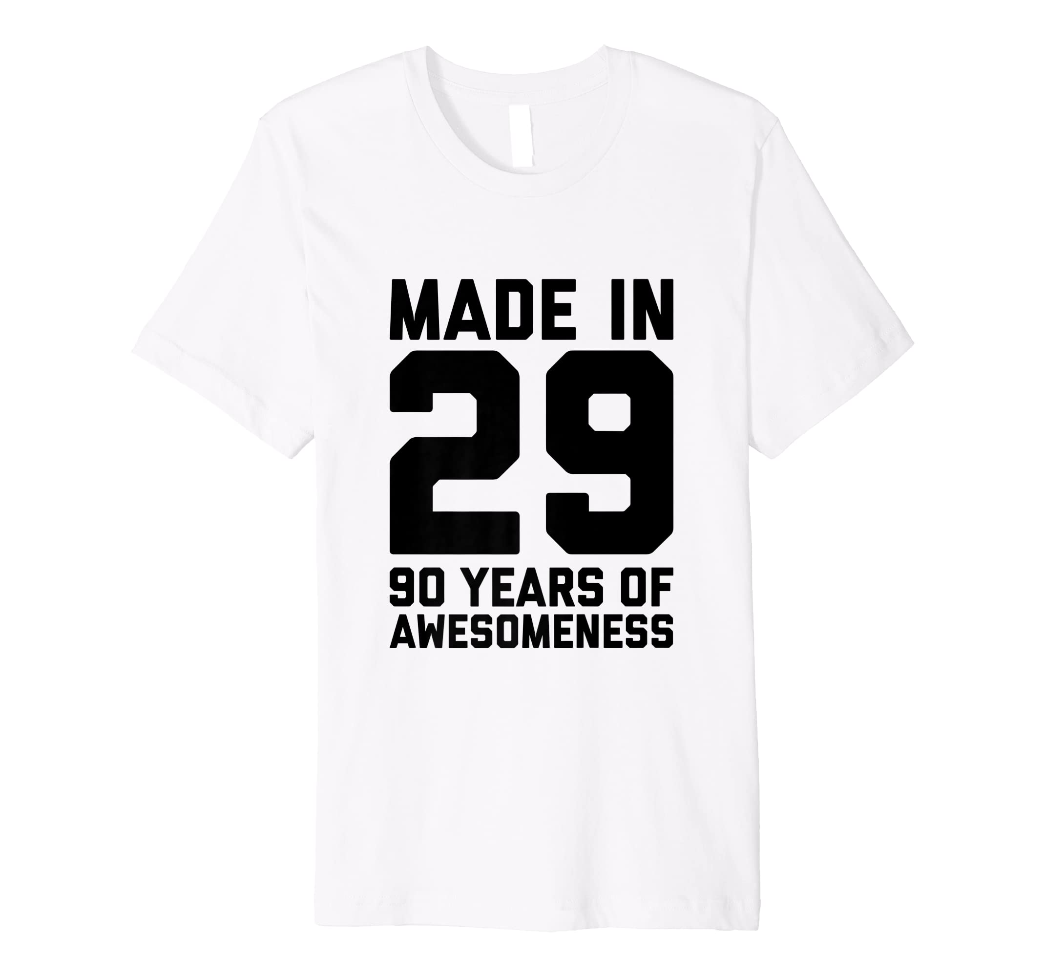 Amazon 90th Birthday Tshirt Women Gifts Age Ninety 90 Year Old Men Clothing