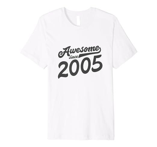 13th Birthday Tshirt 13 Years Old Girls Gift 2005 Daughter